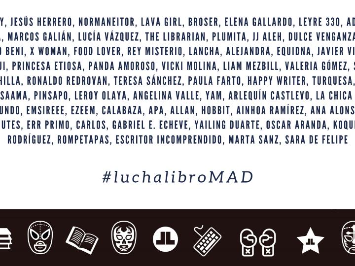 Termina la primera fase de LuchaLibro Madrid