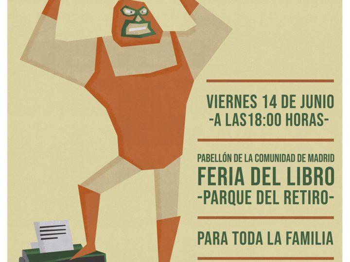 El cartel de LuchaLibro Madrid 2019